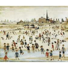 L S Lowry - At the Seaside - MEDICI POSTCARDS