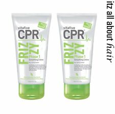 Vita 5 CPR Frizzy Phase 1 Smoothing Creme Duo VitaFive 2 X 150ml