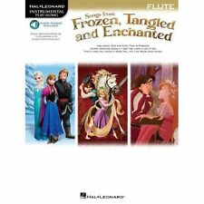 Songs from Frozen, Tangled and Enchanted: Flute (Book/Online Audio) by Hal Leon…