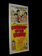 Orig. Vacances sur le Bus Australien South Pacific Daybill sur Lin Grant Varney