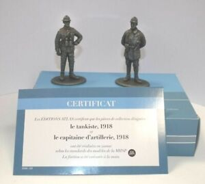 Atlas Editions 1/24 Tank Commander & Artillery Captain 1918 HE30