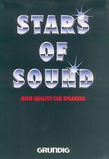 Grundig Lautsprecher Prospekt (D) ca. 1989/90 brochure