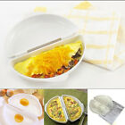 Two Eggs Microwave Omelet Cooker Pan Microweavable Cooker Omelette Egg Steamer