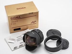 Sigma AF 14mm 14 mm 1:3.5 3.5 Fischauge - Nikon OVP