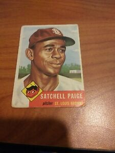 1953 Topps Satchel Paige #220 Ungraded but pretty great condition