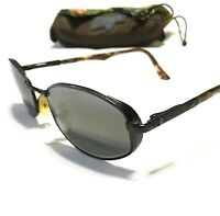 RETIRED MAUI JIM MONARCH SUNGLASSES - Matte Black w/ Polarized Lenses MJ 156-2M