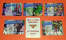 OVERPOWER Location X-Men SET 5 Cape Citadel Krakoa Princess Bar Landau Luckman