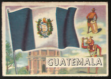 Guatemala A&BC Flags of The World Gum Card # 78