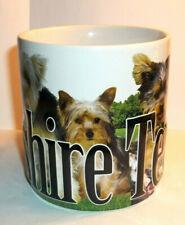 Americaware Yorkie Yorkshire Terrier 3-D Mug Large Tea Cup Coffee Mug~ 2013