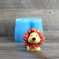3D Lion Silicone Molds for Making Soap Candle Chocolate Cake Ice Cream Pudding
