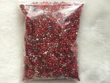 Wholesale 6800pcs Lot Bulk 11/0 Glass Seed Bead 100g AWESOME DEAL Red Love ❤️