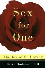 Sex for One: The Joy of Selfloving (Paperback or Softback)