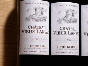 12 Flaschen 2019er Château Vieux Lansac, 99+/100, Bester Côtes de Bourg aus 2019