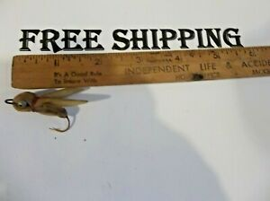 Vintage Unknown Fly Rod Lure TACKLE BOX FIND
