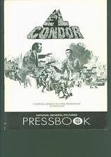 El Condor (1970) press book Jim Brown, Lee Van Cleef, Patrick O'Neal