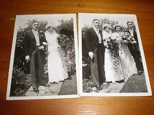 2 wedding photos c1936