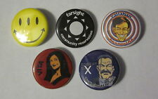 """Transmetropolitan Lot of 5 1 1/4"""" Custom Buttons Badges Spider Jerusalem"""