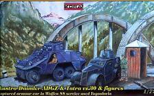 KORA Models 1/72 AUSTRO DIAMLER ADGZ & TATRA vz30 Armored Cars