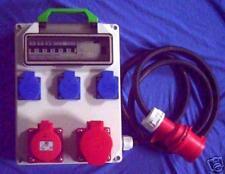 Stromverteiler,Adapter 32A auf 1x 32A,1x16A,3xSchuko+Fi