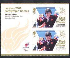 GB 2012 Juegos Paralímpicos/Olimpiadas/Deportes/ganadores de medalla de oro/Natasha Baker 2 V + n36326