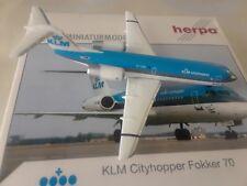 1:500 herpa wings KLM Fokker 70