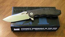 ZERO TOLERANCE New 0562CF Carbon Fiber Hinderer Slicer CTS-204P Bld Knife/Knives