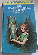 Nancy Drew #32 The Scarlet Slipper Mystery Carolyn Keene 1997 hardback