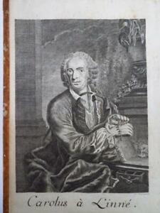 Important CARL VON LINNE PHILOSOPHIA BOTANICA 1780 Ed Revue GLEDITSCH BOTANIQUE