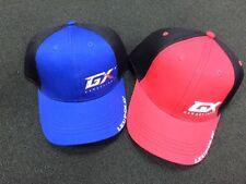 Leupold Golf GX Range Finder FlexFit Hat. Red/Black. Structured Cap
