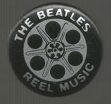 Reel Music Pin * by The Beatles (1982, Pin Back, Capitol Records)