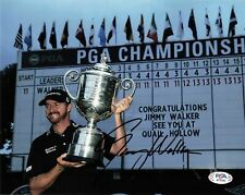 New listing JIMMY WALKER signed 8x10 photo PSA/DNA Autographed Golf