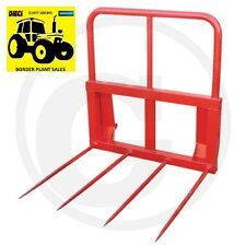 **TRACTOR BALE SPIKE / FORKS EURO BRACKET QUAD TINE** FREE PALLETISED DELIVERY