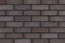 Klinker-verblender Klinker-riemchen Baustoffe & Holz Boomse Feldbrand-riemchen Violett-orange