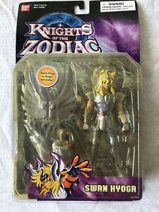 "NIP 2003 Bandai Knights of the Zodiac Swan Hyoga 5"" Action Figure #16330"