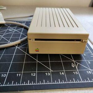 """Vintage Apple 3.5"""" External 800K Disk Drive Model A9M0106  tested working"""