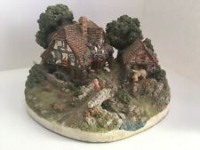 "Danbury Mint ""The Old Mill"" By Jane Hart - good used condition"