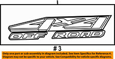 FORD OEM 01-02 F-250 Super Duty Pickup Bed-Decal Sticker YC3Z9925622AAC