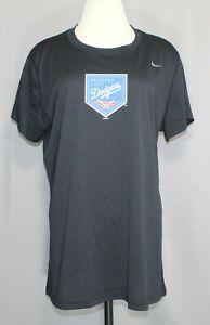 Nike Oklahoma City Dodgers Black Cap Sleeve T-shirt Women's Size XL