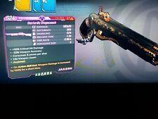 Level 57 Stagecoach x25 1.5x zoom ASE 100% weapon damage 100 xbox BL3
