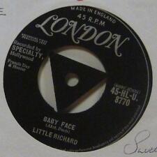 """Little Richard (7"""" Vinyl 1st Issue)Baby Face-London-HLU 8770-UK-Ex/Ex-"""