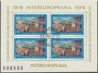 RUMÄNIEN 1979 VFU Block INTEREUROPA 1.30 L. Postbeförderung durch Postkutsche