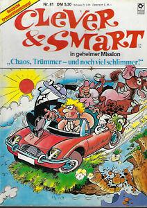 """Clever & Smart Nr. 81 In geheimer Mission """"Chaos, Trümmer – und noch viel schlim"""