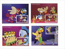 2017 DISNEY The Three Caballeros 8 SOUVENIR SHEETS Donald