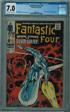 FANTASTIC FOUR #72 CGC 7.0 SILVER SURFER COVER OW/W PGS 1968