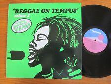 RARE VINYL LP UK REGGAE ON TEMPUS VOLUME 2 1980 STEEL PULSE DENIS BOVELL LEVI EX
