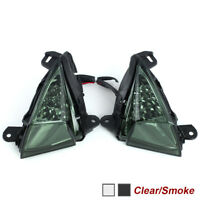 For KAWASAKI ZX-14R/ZZ-R 1400 CONCOURS 14 LED Front Turn Signal Light Indicators