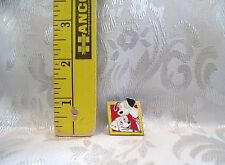 Walt Disney HIDDEN MICKEY 101 DALMATIONS PONGO & PERDITA TRADING HAT PIN
