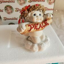 Dreamsicles Figurine Season Of Peace Christmas Angel In Box Cast Art Figure