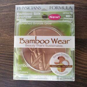 NEW Physicians Formula Bamboo Wear Silk Bronzer REFILL 7063 Light Bronzer