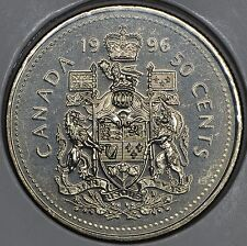 CANADA 50 CENTS 1996 in MS